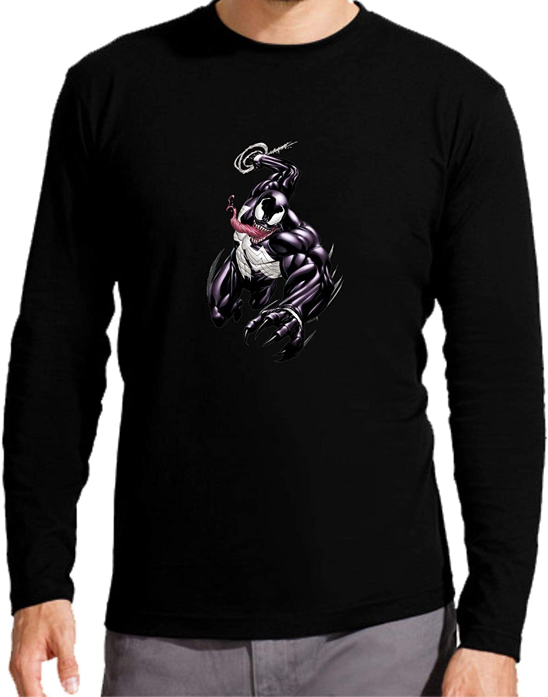 Camiseta Manga Larga de NI/ÑOS Spiderman Comic Marvel Veneno Venom