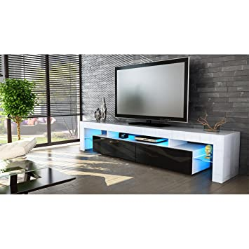 Amazon Com Helios 200 Modern Tv Stand For Living Room Tv