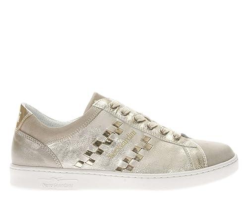 Alta qualit Sneaker champagne NeroGiardini P805090D