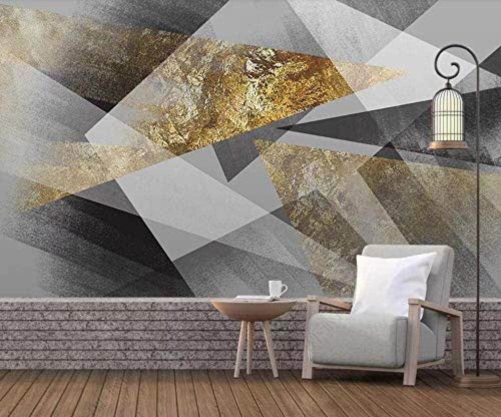 Papier Peint Intiss/é Tapisserie Murales Panoramique 3D Papier Peint Nordique Abstrait Noir Et Blanc G/éom/étrique Carr/é Canap/é Fond D/écoration Murale Peinture