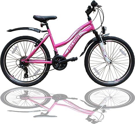 Talson - Bicicleta de montaña para niña, 24 Pulgadas, con ...