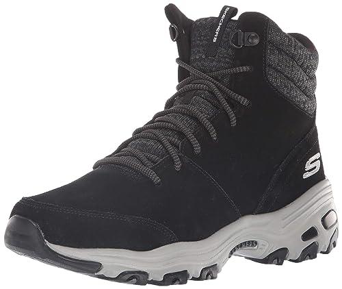 100% Qualität Infos für New York Skechers Women's D'Lites-Chill Flurry Ankle Boots: Amazon.co ...