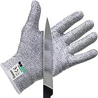 Twinzee® Schnittschutzhandschuh - Extra Starker Level 5 Schutz, Lebensmittelecht, EN 388 Zertifiziert, 1 Paar