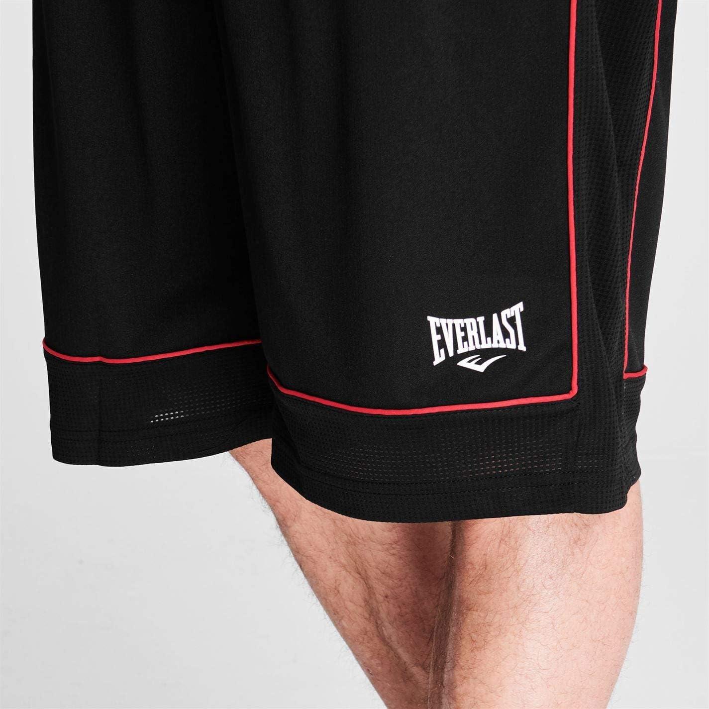 Everlast Short de basketball pour homme Pantalon de sport d/écontract/é