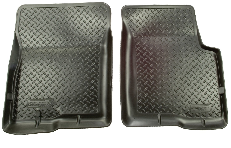 Weathertech mats autozone - Amazon Com Husky Liners Front Floor Liners Fits 80 96 Bronco F150 80 97 F250 F350 Automotive