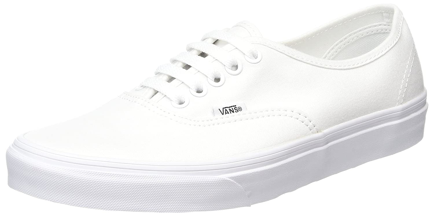 [バンズ] VANS VANS AUTHENTIC VEE3 B00ML0WE2O 11.5 B(M) US Women / 10 D(M) US Men|True White True White 11.5 B(M) US Women / 10 D(M) US Men