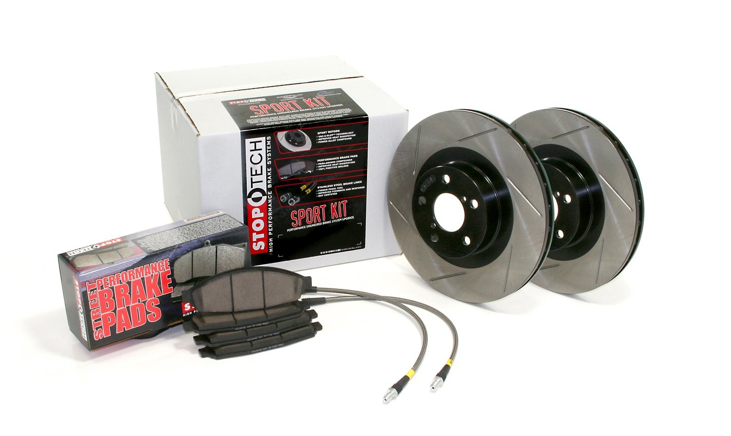 StopTech 977.44016F SPORT KIT FRT, SLOTTED by StopTech