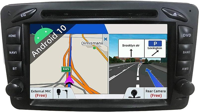 Joyx Android 10 Autoradio Passt Für Benz Ml W163 Elektronik