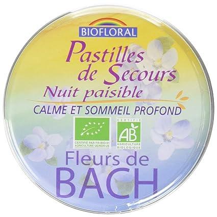 Biofloral Pastilles De Secours Nuit Paisible 50 G Amazon Fr