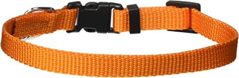GoGo Pet Products Comfy Nylon 3//8-Inch Adjustable Pet Collar X-Small Red