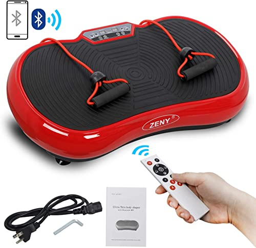 Saturnpower Full Body Vibration Platform Massage Machine Fitness Shaking Machine Workout Whole Body Trainer Vibration Weight Loss Equipment Vibration Fat Reducer