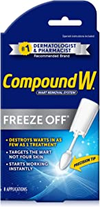 Compound W Freeze Off | Wart Removal | 8 Applications