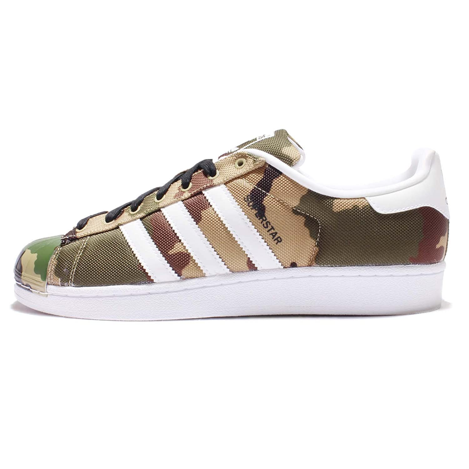 info for 1ad1a f0eea adidas Originals Superstar Shell Toe Pack Camo Trainers Mens
