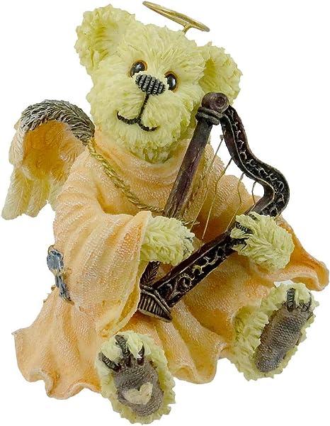 Boyds Bears Figurine Bearstone Guardian Angel Bear Trinket Box Boyds Collection