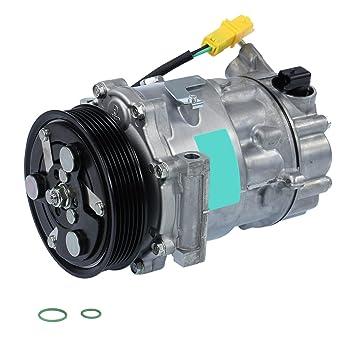 1 x climática Compresor Compresor Aire Acondicionado sanden sd7 C16,