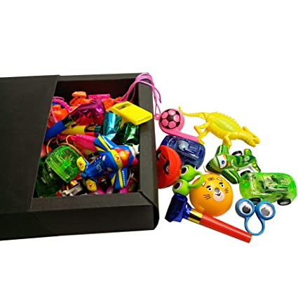 night lions tech 35 pcs party supplies mid size and small bulk toys set