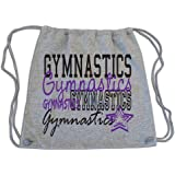 Sports Katz Drawstring Bag Gymnastics Gray