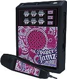 Paper Jamz Pro Series 6422 -Micrófono y amplificador con efectos de sonido, color rosa [importado de Inglaterra]