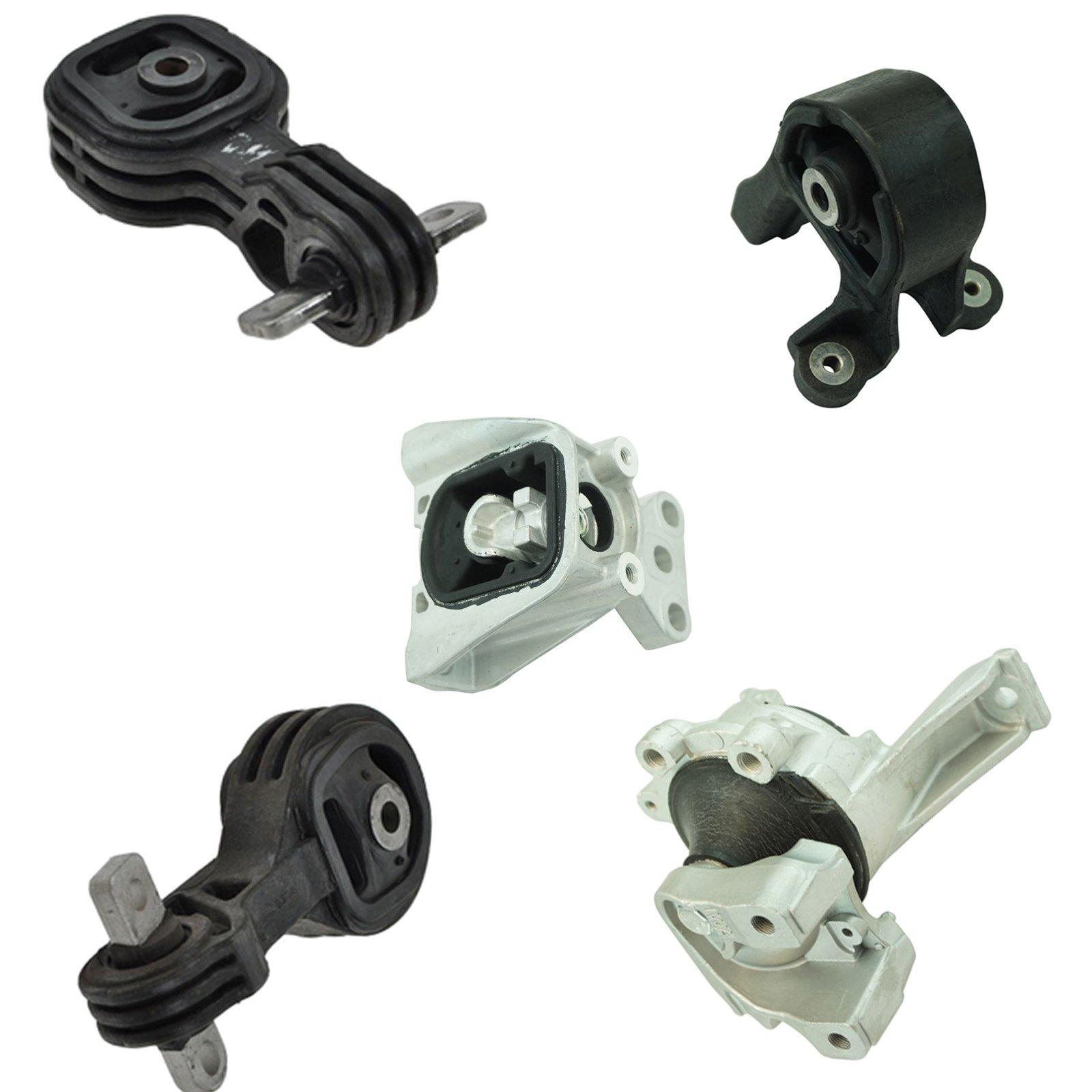 5 Piece Engine & Transmission Motor Mount Kit Set for Honda CR-V SUV Brand by 1A Auto