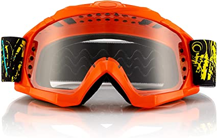 Adult Goggles MX ATV UTV Orange Dual Lens Fox Racing 2019 MAIN ENDURO