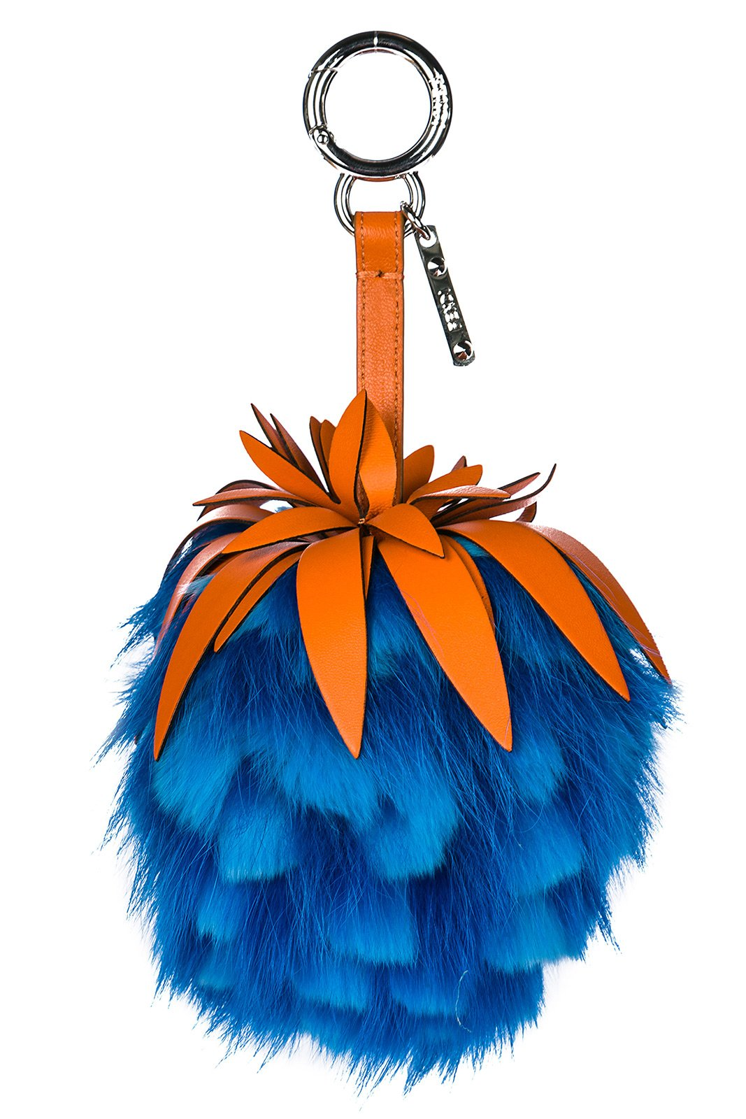 Fendi women's bag charmAnanas blu by Fendi