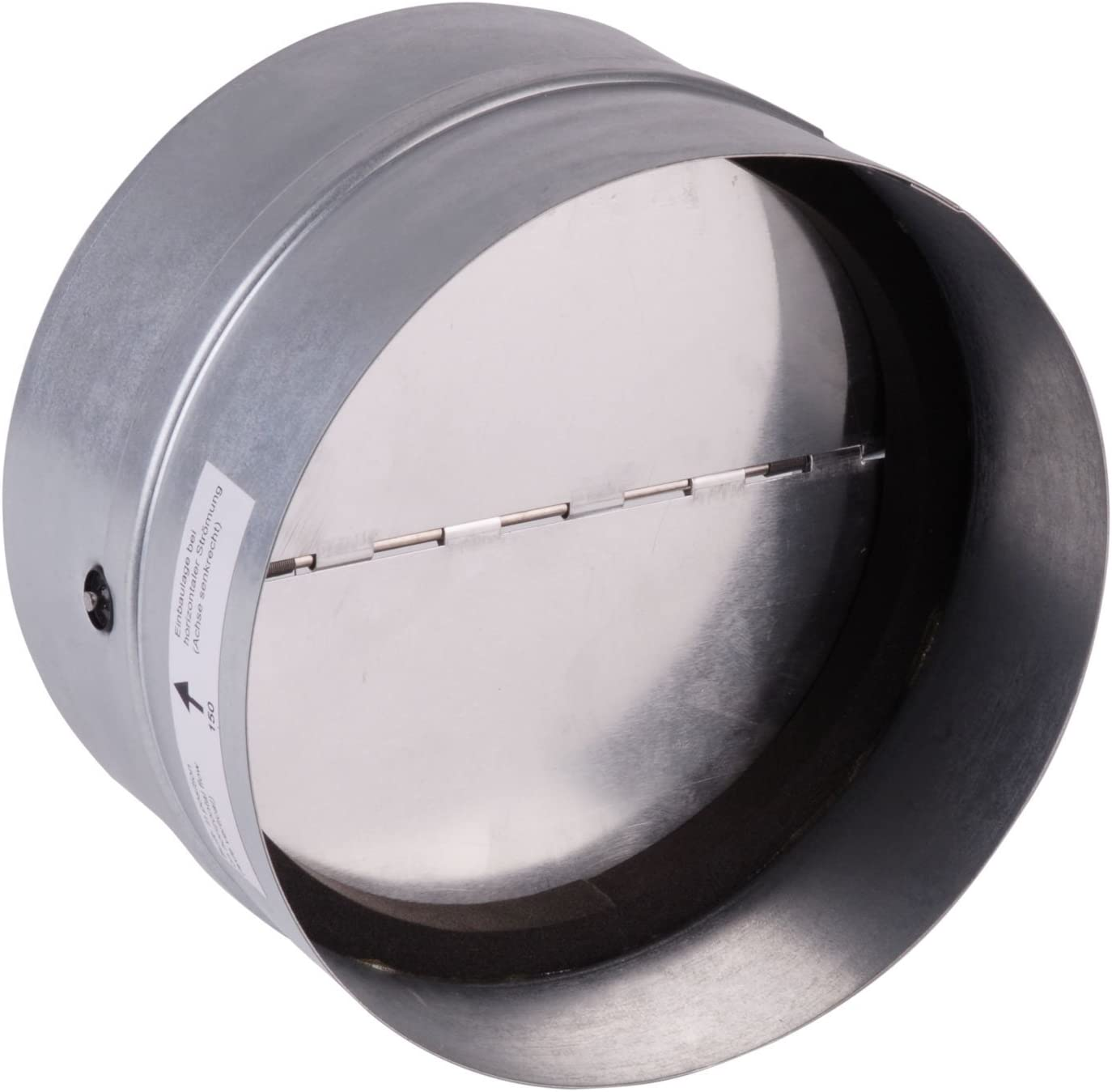 Bielmeier V653348 - Válvula antirretorno, redonda (150 mm de diámetro) para System 150, color blanco cromado: Amazon.es: Bricolaje y herramientas
