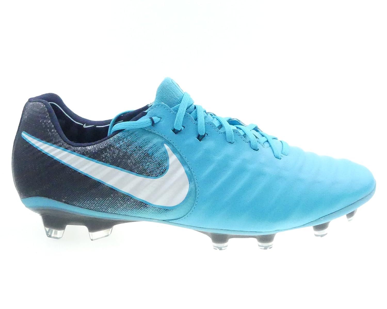 Nike Tiempo Legend VII, Hausschuhe de Fútbol para Hombre schwarz, Blau