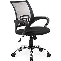 Umi. Essentials Chaise de Bureau Fauteuil de Direction Ergonomique (Noir)