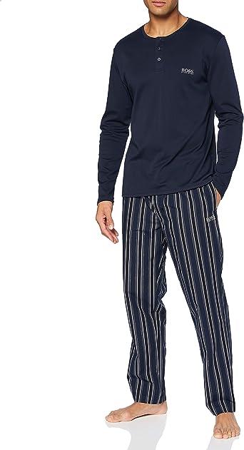 BOSS Premium Long Set Juego de Pijama para Hombre