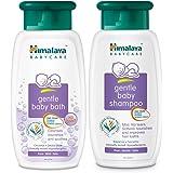 Himalaya Baby Shampoo, 400ml with Gentle Baby Bath, 400ml