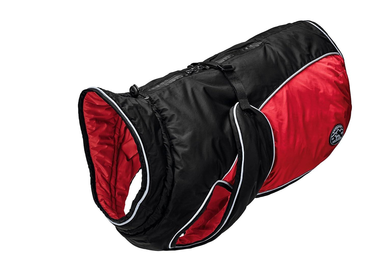 Hunter Dog coat Uppsala Extreme 70 Black Red, XL
