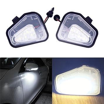 Left & Right Side LED Kit lámparas espejo retrovisor exterior para Volkswagen Passat Santana, Scirocco