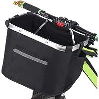 Andoer Cesto de bicicleta Cesto de suspensão frontal para bicicleta dobrável destacável resistente à água para bicicleta…