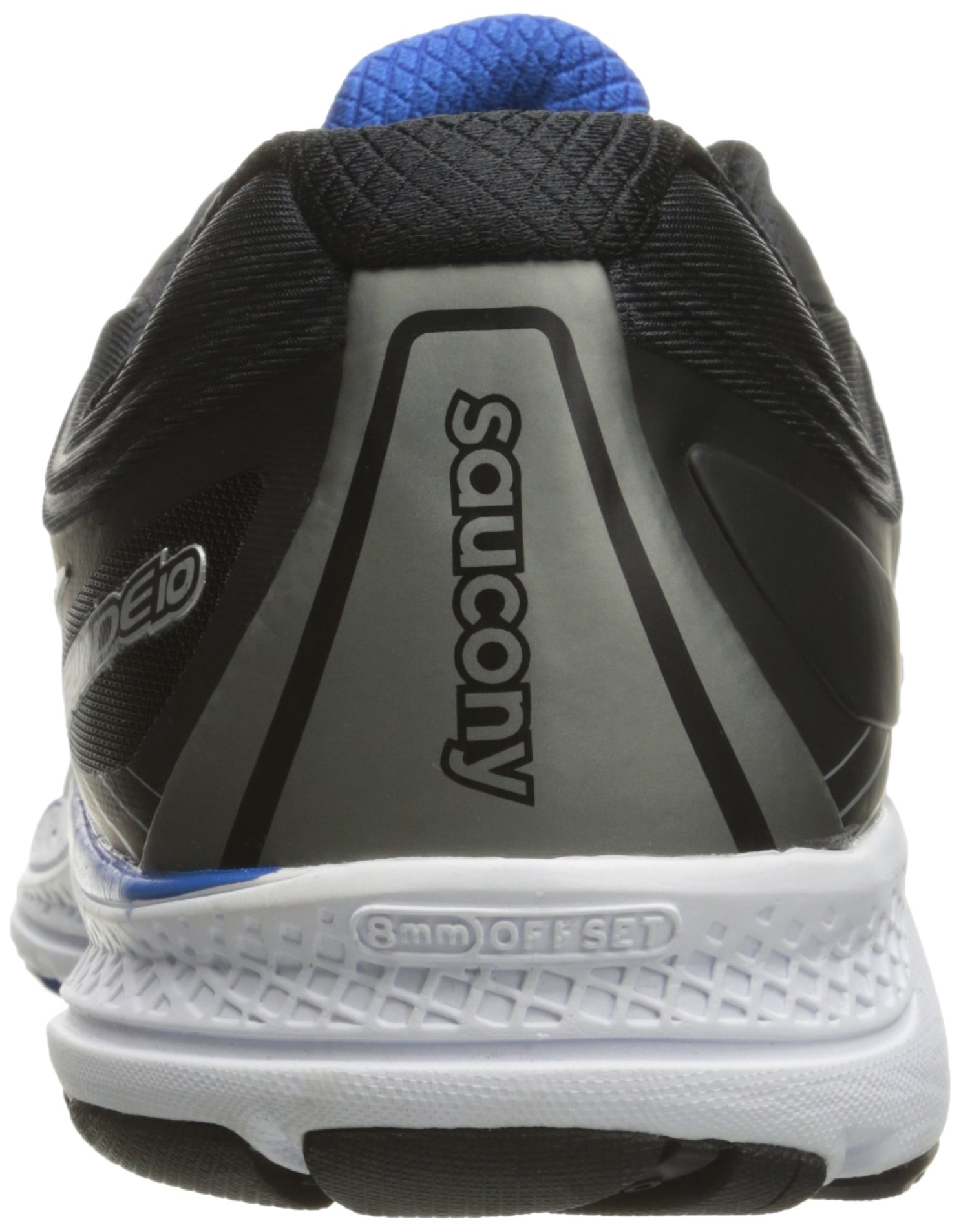 Saucony Men's Guide 10 Running Shoes, Grey Black, 14 D(M) US by Saucony (Image #2)