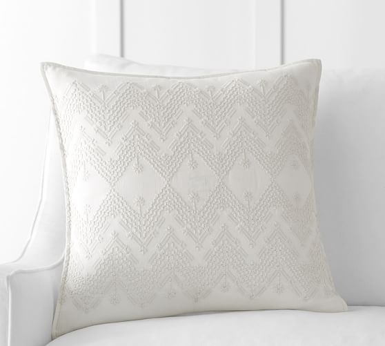 Cami Embroidered Pillow Cover | Pottery Barn