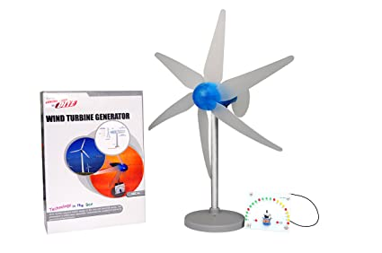 Buy Kitucate Wind Turbine Generator Diy Hobby Science Energy