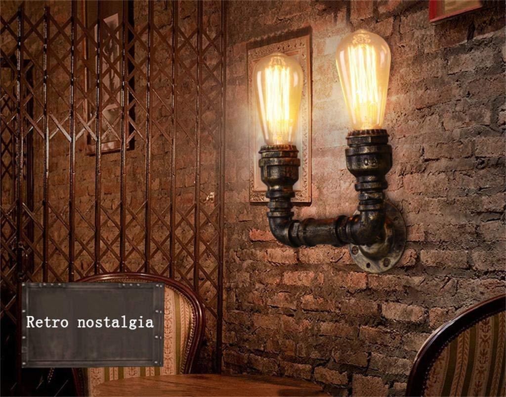 FXING Romantica Illuminazione Nordic American retrò Minimalista della Parete del Tubo Applique