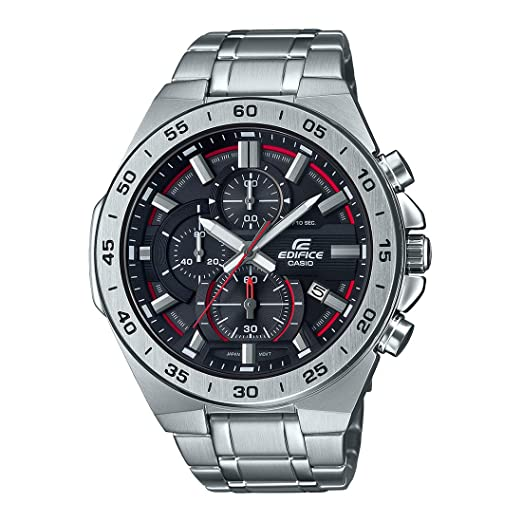 CASIO EFR-564D-1AV Reloj Casio Edifice WR 100 Acero Inoxidable: Amazon.es: Relojes