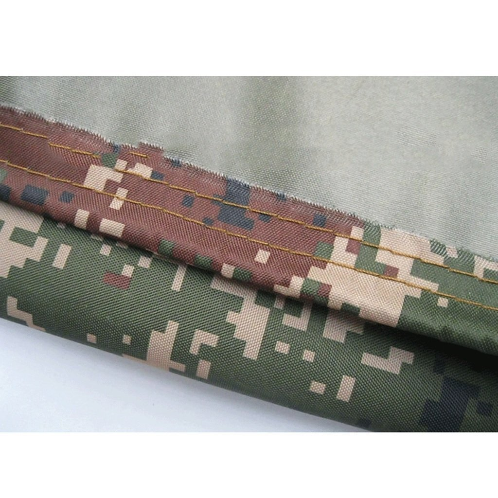 La b/âche ext/érieure imperm/éable /à leau de poncho de camouflage tissu dOxford de protection solaire /étanche /à la poussi/ère disolation thermique anti-poussi/ère tissu dombre taille : 2x3m