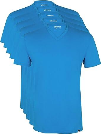 100/% Baumwolle Regular fit gerader Schnitt pflegeleicht Ultrasport Basic Herren Sport Freizeit Tankshirt /ärmellos mit Rundhalsausschnitt 3er Set in verschiedenen Farben reine Naturfaser