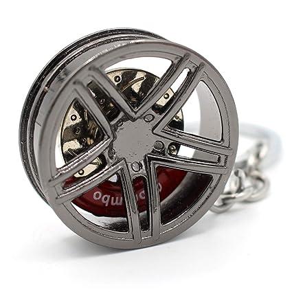 VmG-Store Llavero Llanta de Metal design109 Colgante para ...