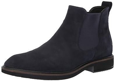 08562437b3ce3 ECCO Men's Vitrus II Chelsea Ankle Boot, Night Sky Suede, 40 M EU (