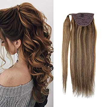 VeSunny 24inch Long Ponytail Hair Piece Straight