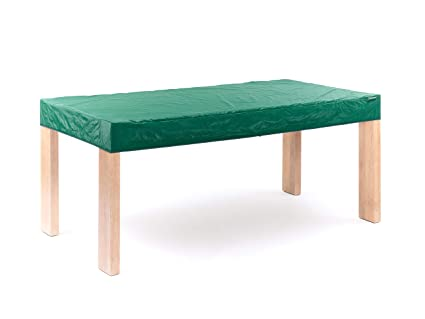 CoverMates Rectangular Table Top Cover - 72W x 42D x 6H - Classic Collection - 2 YR Warranty - Year Around Protection- Green