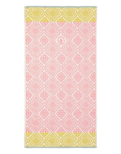 Toalla Jacquard Check, de estilo hindú y algodón puro de Pip Studio , rosa,