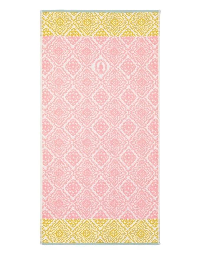 Toalla Jacquard Check, de estilo hindú y algodón puro de Pip Studio , rosa, 55x100: Amazon.es: Hogar