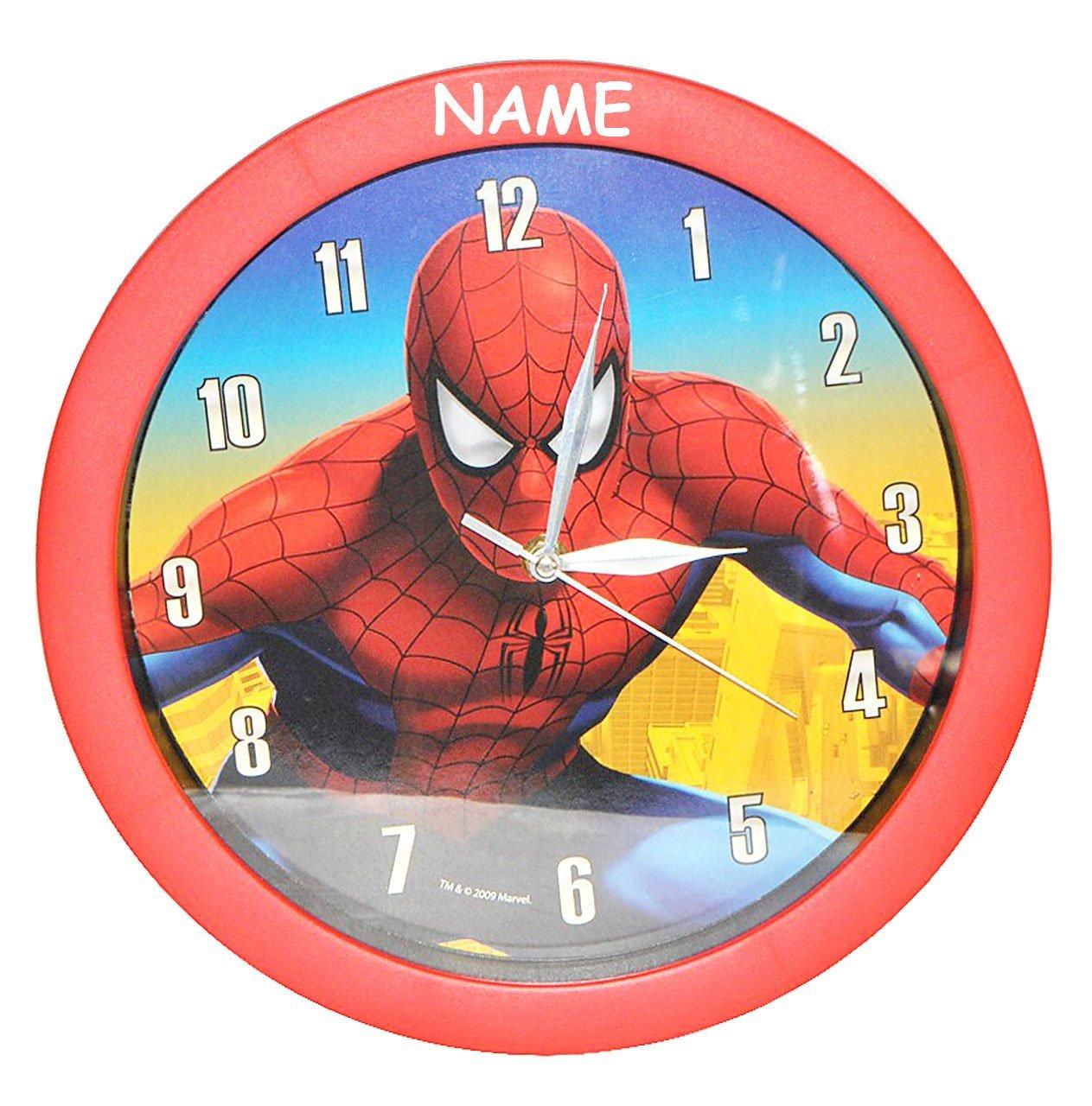 Unbekannt Wanduhr Spiderman 29 Cm Gross Uhr Kinderzimmer
