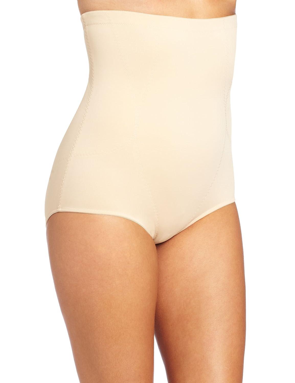 0544108300 Dr. Rey Shapewear Womens Firm Control High Waist Brief - Beige -   Amazon.co.uk  Clothing