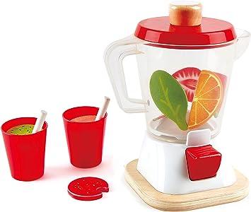 Hape E3158 - Juguete de cocina licuadora, Blanco/ Rojo: Amazon.es ...