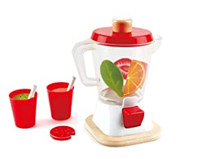 Hape Smoothie Blender, Play Kitchen Set, 12Piece, Multicolor
